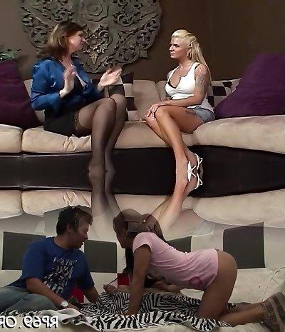Unbelievable Lesbian Mature & Milf xxx scene