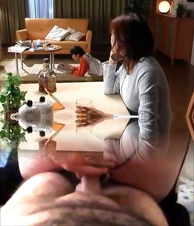 Horny japanese mature babes inhaling
