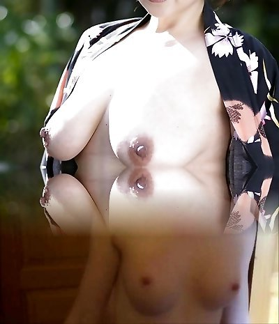 50s Japanese with Unbelievable Natural Tits