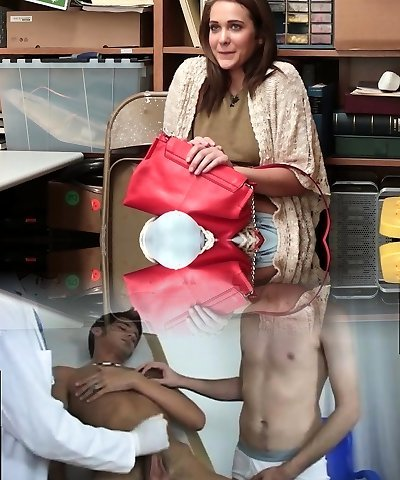 Shoplyfter - Mommy and daughter-in-law Caught and Fucked For Stealing