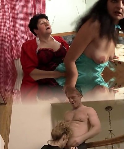 Grannie Strapons Woman