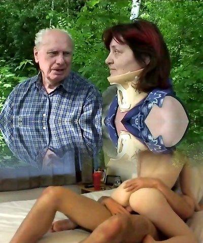 Grandma Outdoor Fucking