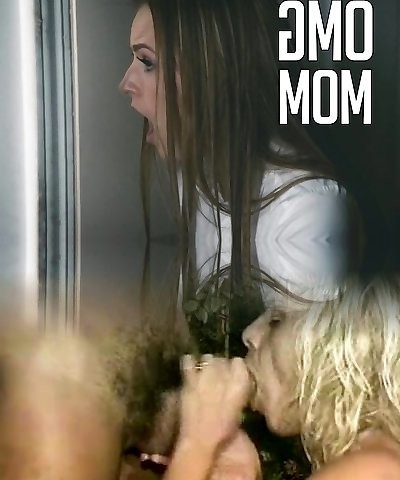 daughter witnesses her Mom and her Teacher