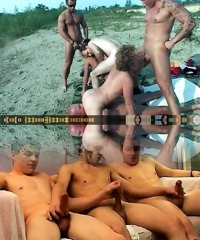Euro matures perverse FKK orgy
