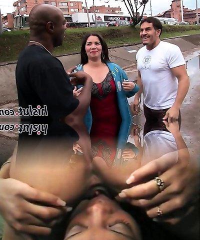 Chubby mature slut pleasures a Bbc