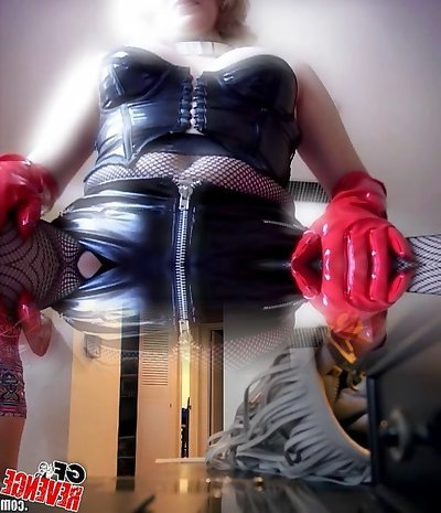 Fabulous Mature in Rubber