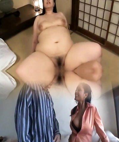 Peaceful anal cute Japanese mom