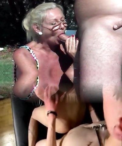 Anastasia Sands Drool Roasted In Backyard