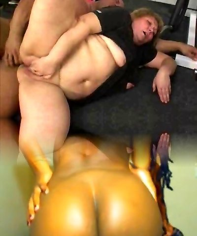 BBW GRANNY Plowed IN THE GYM