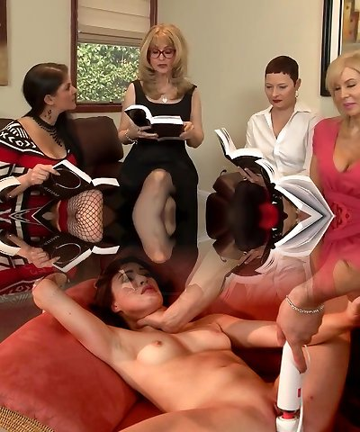 Great Lesbian Fuck-a-thon By Horny Matures