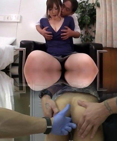 Horny Japanese female Momoka Nishina in Fabulous Medical JAV vid