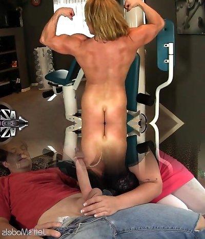 Wanda Moore 02 - Woman Bodybuilder
