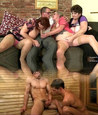 Old fuckslut mothers suck and drill not their sons