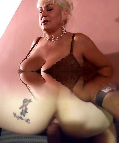 cocente cougar ottiene boner