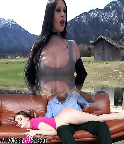 Outdoor Blowjob and Hj near the Street - Nail my crazy Mouth - Cum on my fresh Latex Dress