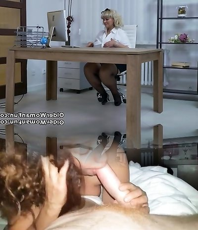 European BBW Dita works her cooter with fingers and dildo