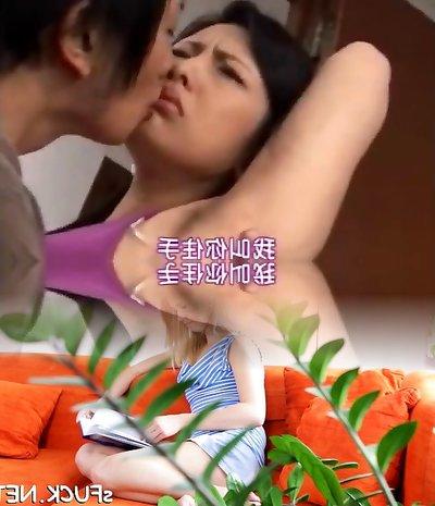 Asian mom's furry armpit