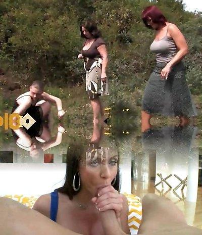 Outdoor oldie porno