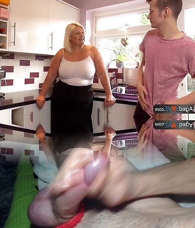 Agedlove mature obese blowjob and doggystyle