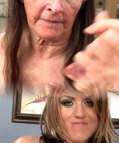 Grannie takes it all