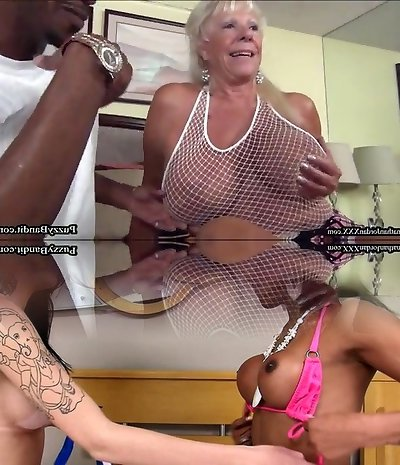 72 year old Grandma Hankers Big Dark-hued Cock