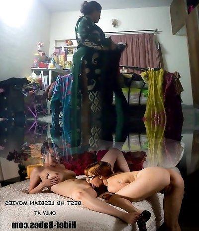 Hot aunty caught on hidden cam