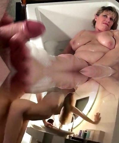 Old experienced mommy is taking