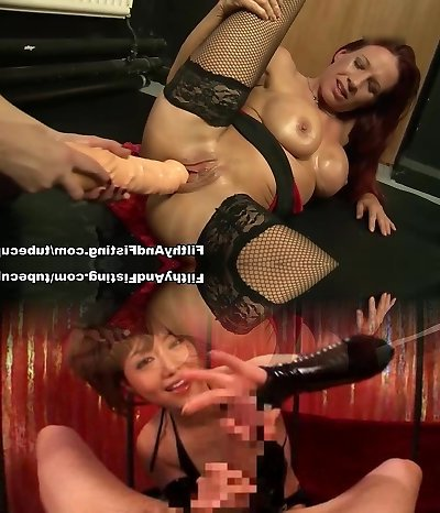 Crazy adult movie stars Wendy Taylor, Faye Rampton in Exotic Fisting, Dildos/Toys gonzo pin