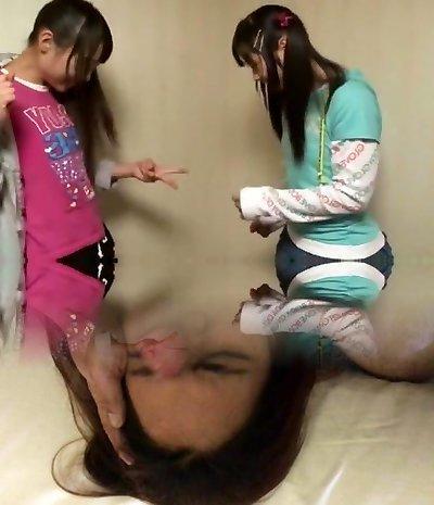 Horny Japanese tramp Mina Yoshii, Mamiru Momone in Amazing Hidden Cams, Handjobs JAV clip