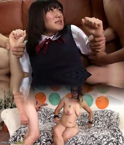 Subtitles Japanese mom CFNM party for shy daughter-in-law