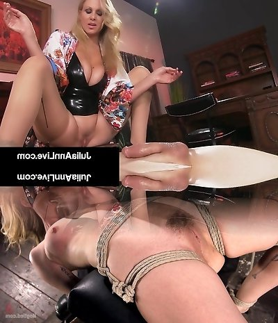 Stud Toy Gets Smothered By Glamorous Cougar Julia Ann's Puss!