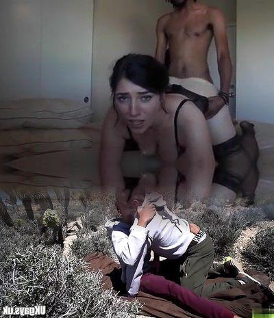 Hot white single mom likes black dick