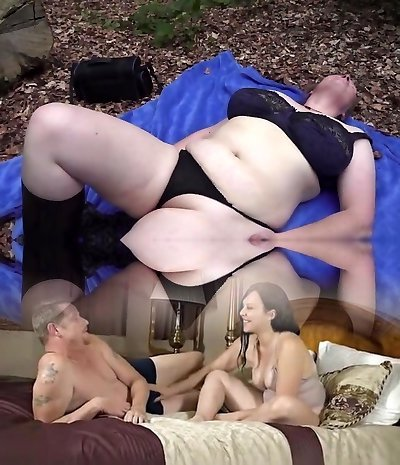 Hottest adult movie star in Astounding Outdoor, Mature adult clip