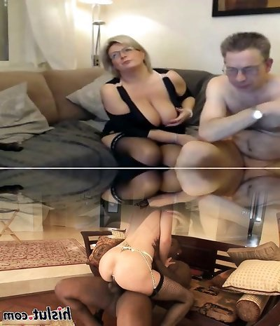 Mature mom have a webcam romp with big perfect tits