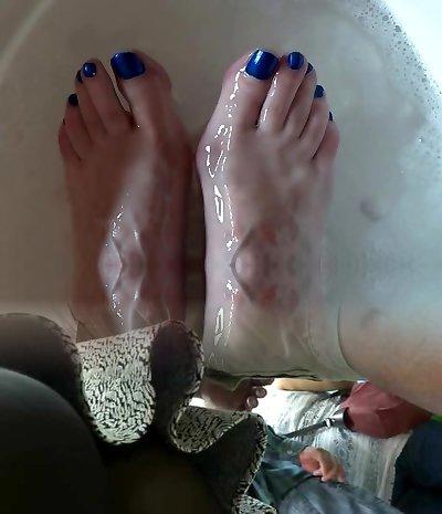 Granny sexy feet