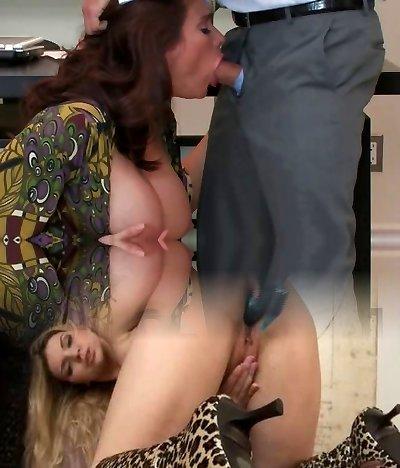 Boss & A Secretary mom