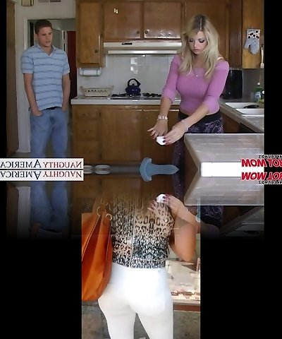 Busty mom Vicky Vette take lollipop in Point Of View style