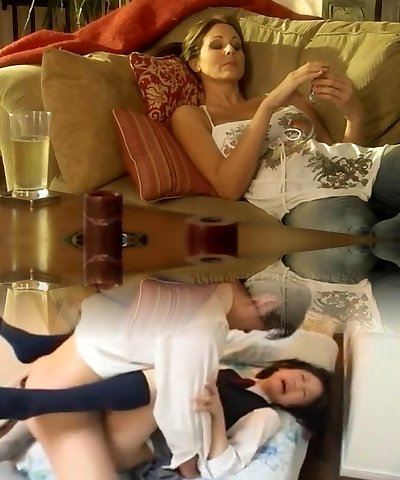 Hot time with 2 lesbians mature...by Angelo Luna