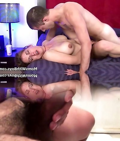 Mind-blowing Milf Miss Trixie Sex With Young Strap Guy