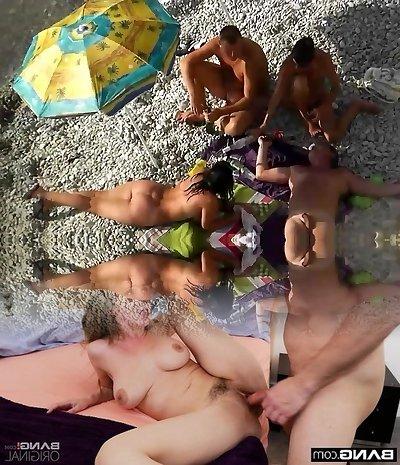Beach Group.avi