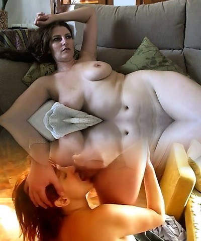 Busty mature brown-haired with huge boobs and hairy pussy takes off