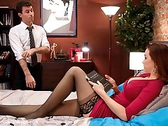 Watch the sexy and beautiful Chanel Preston submit to hot and dominant James Deen in this BDSM domestic fantasy role play.  With deep throat cock sucking, electricity, corporeal, anal and hard core fucking. Bad wifey!