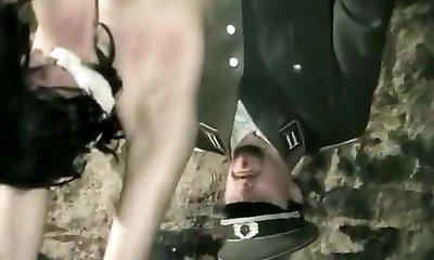 Horny amateur BDSM, Cosplay xxx vid
