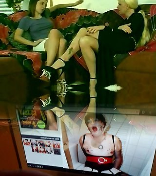 Calda Bionda Shemale & amp; Hot Teen Ragazza Bruna