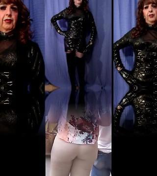 Mandy PVC Transgirl Slut