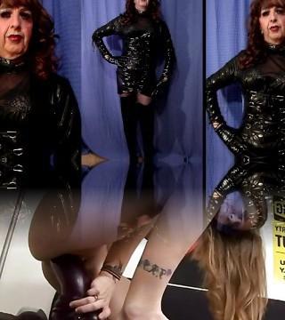 Mandy PVC Tranny Slut