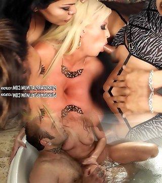PornstarPlatinum - Alura Jenson Overwhelmed by Transgirls