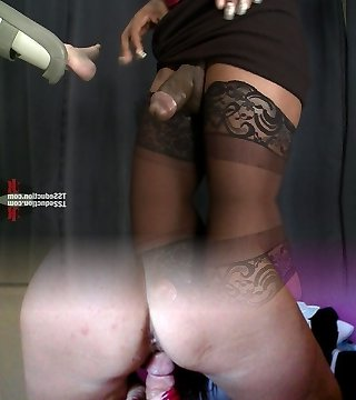The Doctor is IN your ASS Stunning Fresh Transsexual Talent Chanel Couture