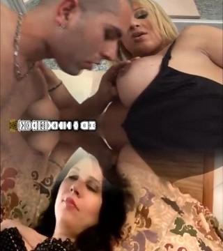 Hot Vixen Threesome Tranny