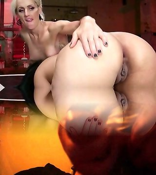 Erotic She-demon with Cock Fucks Penny Barber to hammer a deal